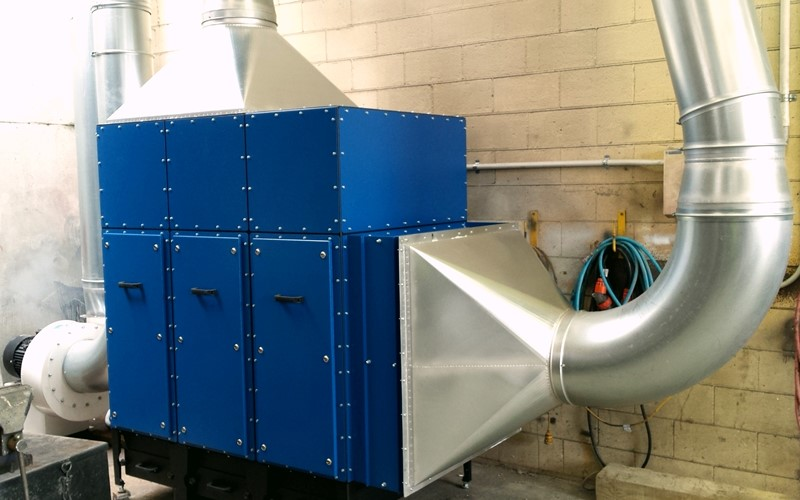 New dust extraction system does the trick for Hiway Stabilisers