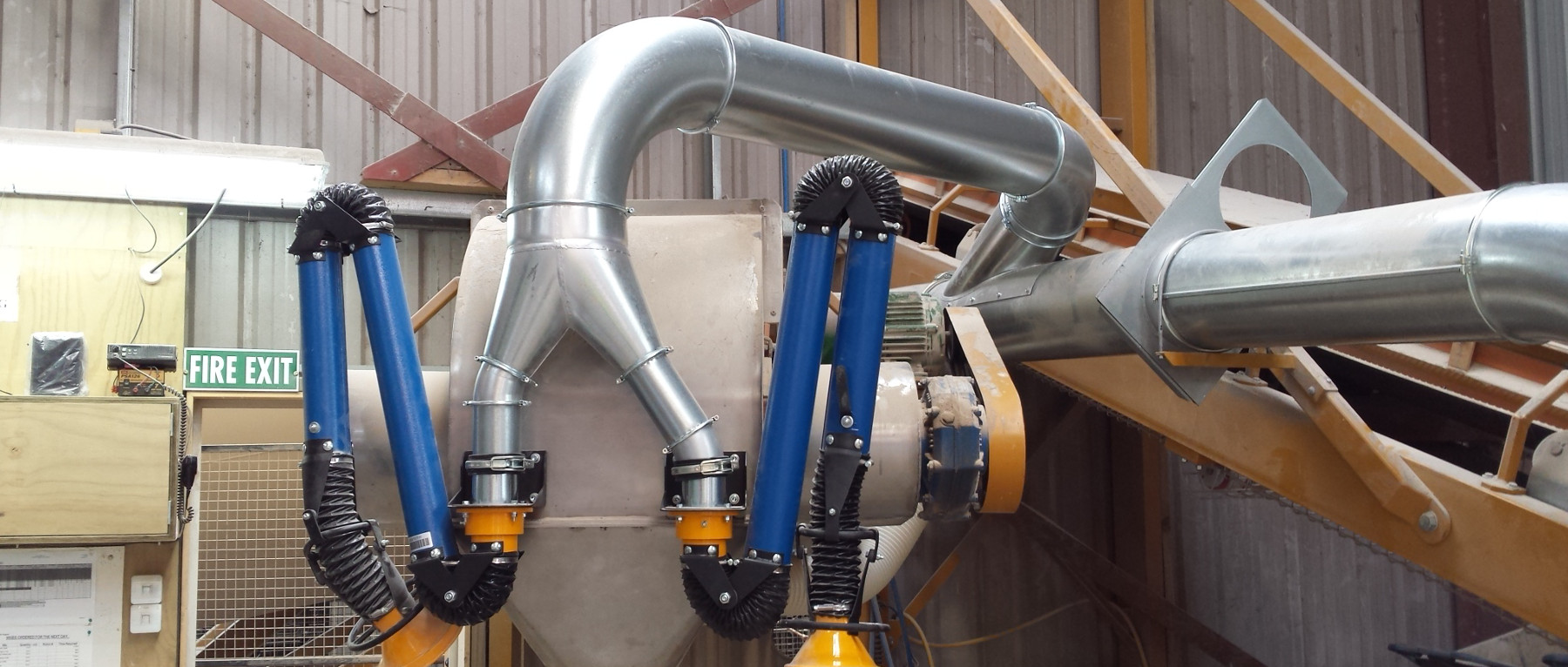 Dust Filtration Amp Fume Filtration Nz Duct And Flex